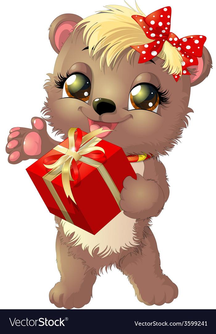 Beautiful bear vector | Price: 3 Credit (USD $3)