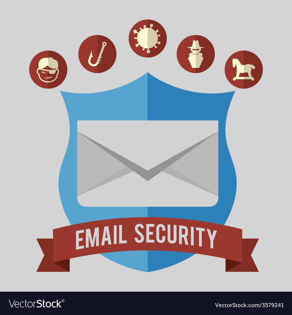 Mail icon design eps10 graphic vector | Price: 1 Credit (USD $1)