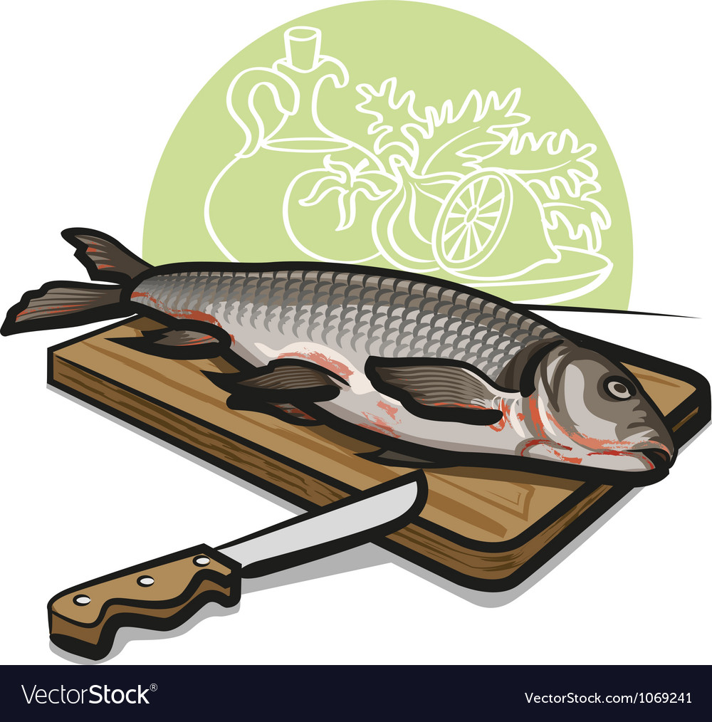 Raw fish vector | Price: 3 Credit (USD $3)