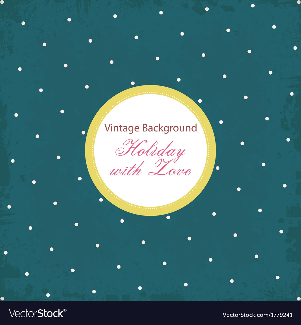 Shabby chic background with pattern vector | Price: 1 Credit (USD $1)