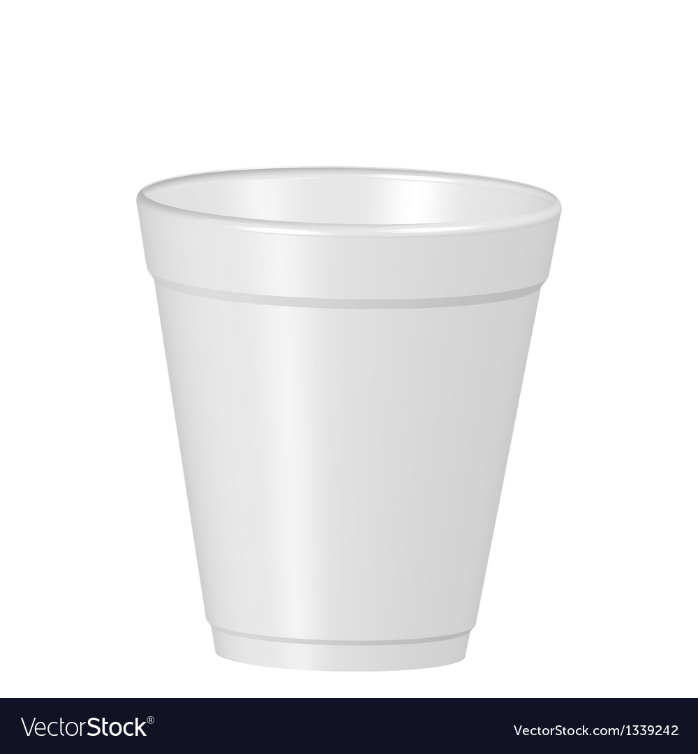 Plastic coffe cup vector | Price: 1 Credit (USD $1)