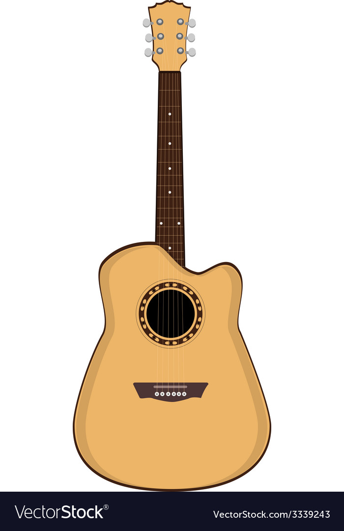 Brow guitar vector | Price: 1 Credit (USD $1)