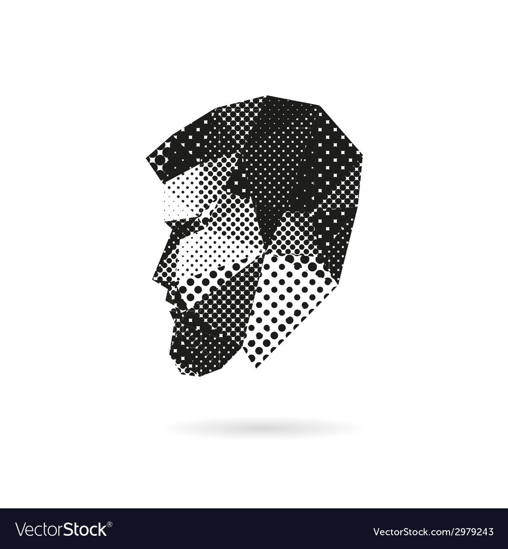 Fashion man silhouette vector | Price: 1 Credit (USD $1)