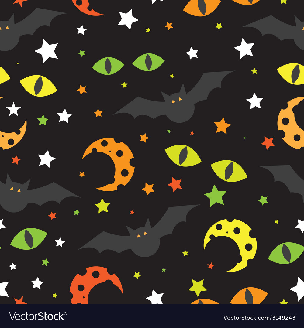 Halloween background  template for design vector | Price: 1 Credit (USD $1)