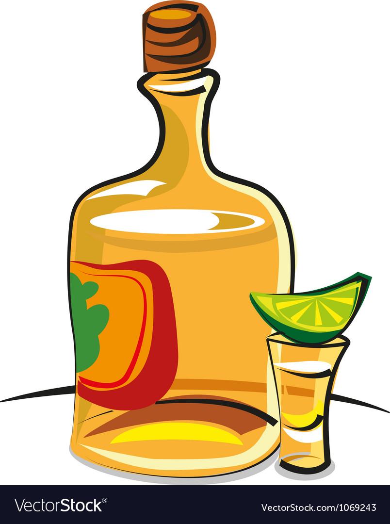 Tequila vector | Price: 3 Credit (USD $3)