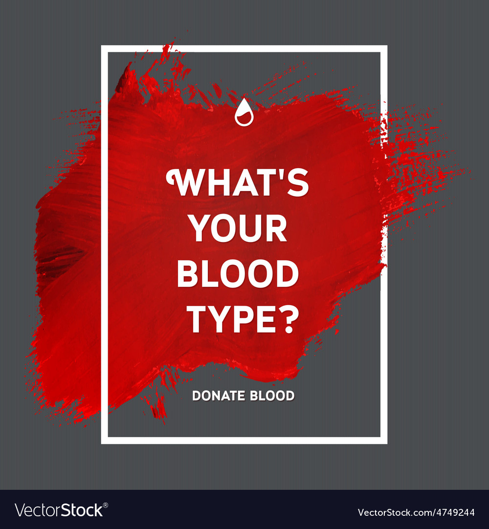 Donate blood motivation information poster vector | Price: 1 Credit (USD $1)