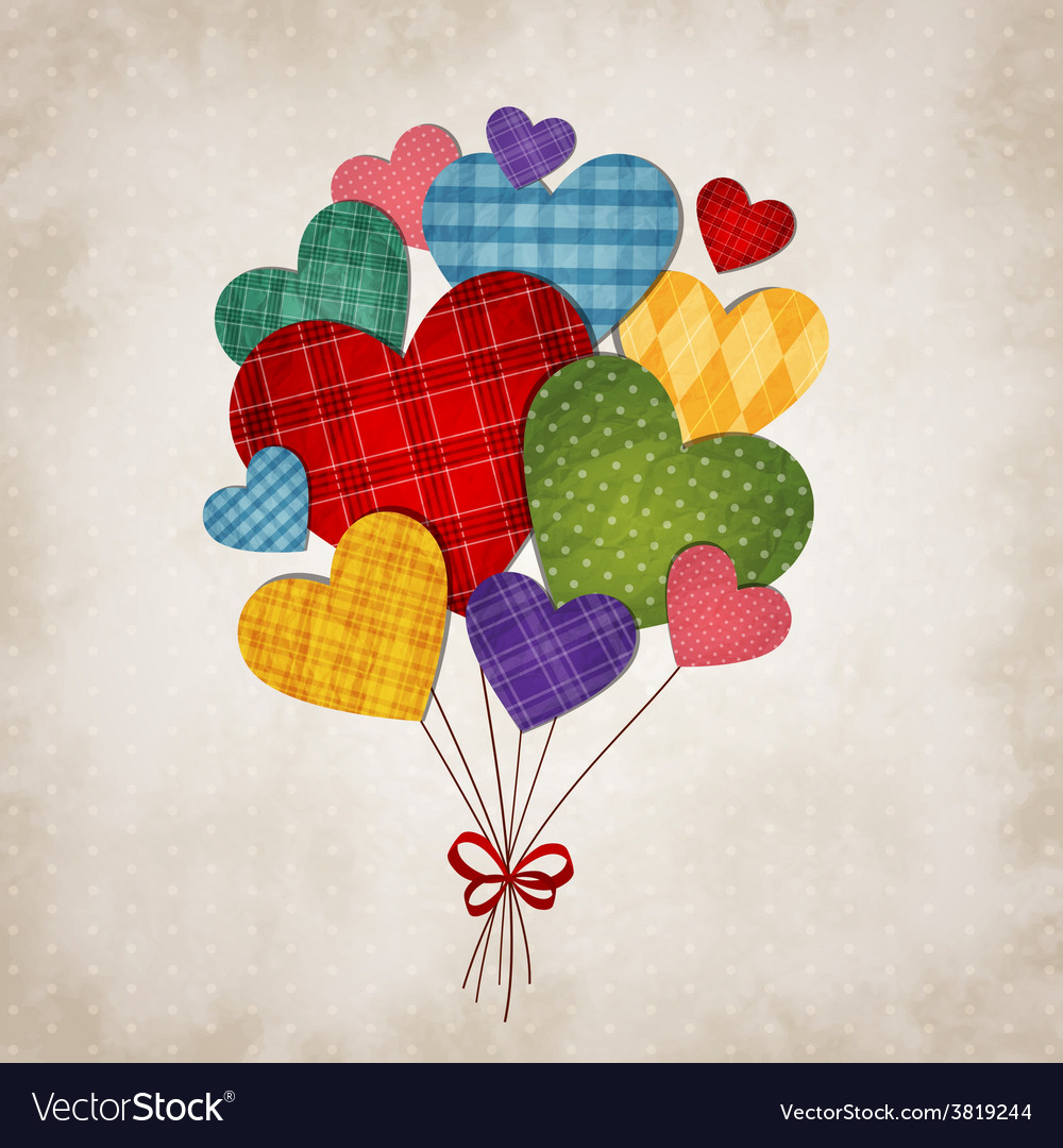 Romantic heart vector | Price: 1 Credit (USD $1)