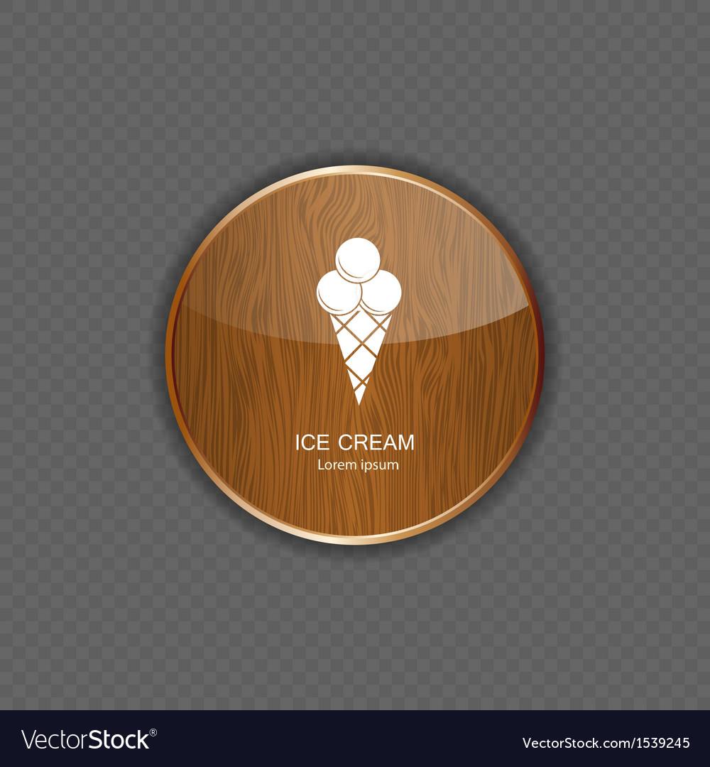 Ice cream application icons vector   Price: 1 Credit (USD $1)