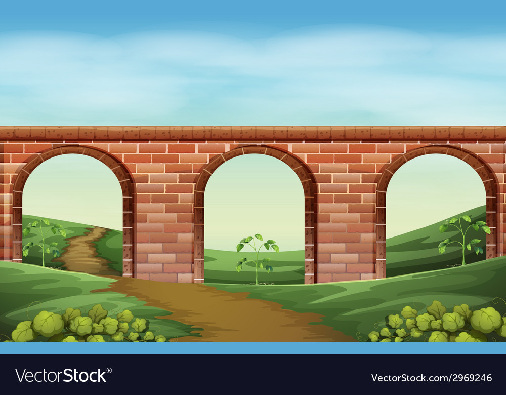 A bridge vector | Price: 3 Credit (USD $3)