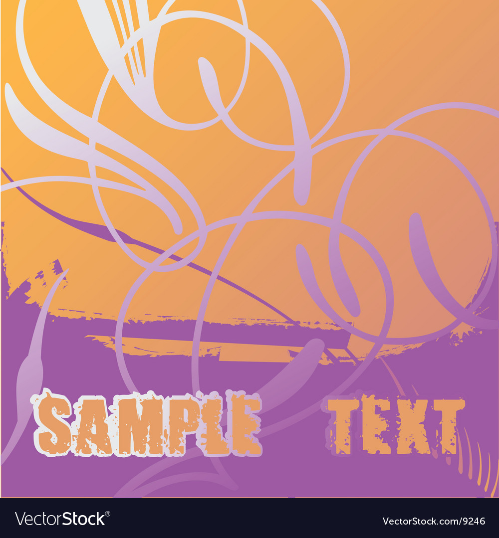 Flayer scroll vector | Price: 1 Credit (USD $1)
