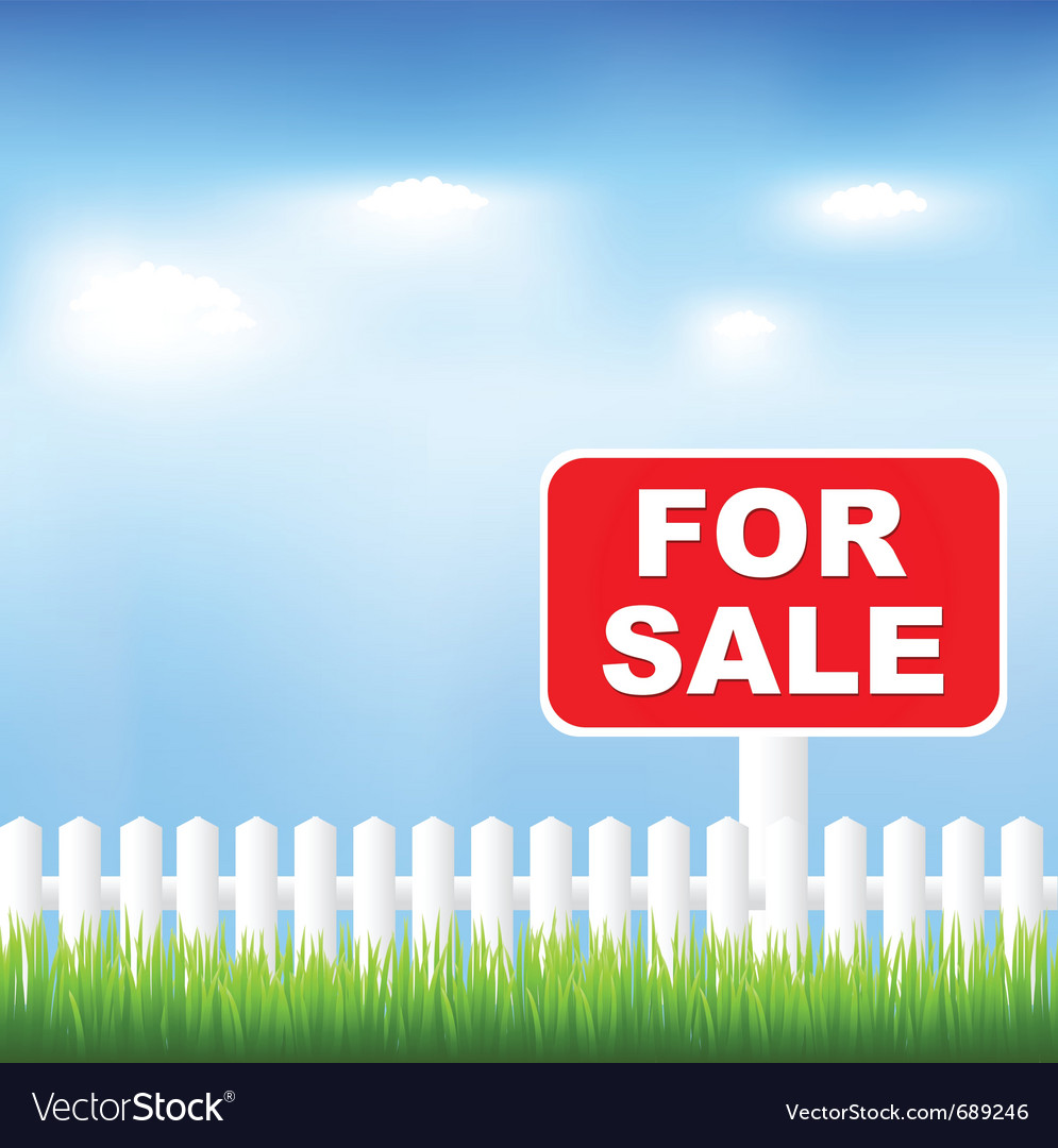 For sale sign vector | Price: 1 Credit (USD $1)