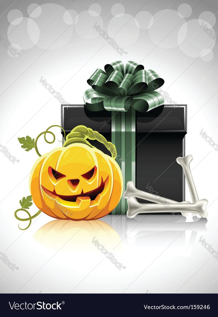 Halloween gift vector   Price: 1 Credit (USD $1)