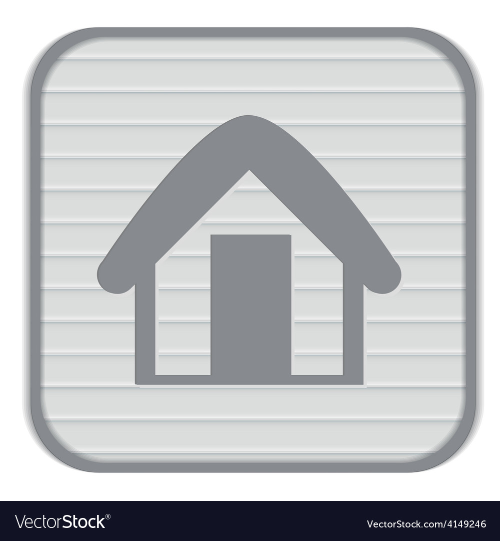 House icon home sign vector | Price: 1 Credit (USD $1)
