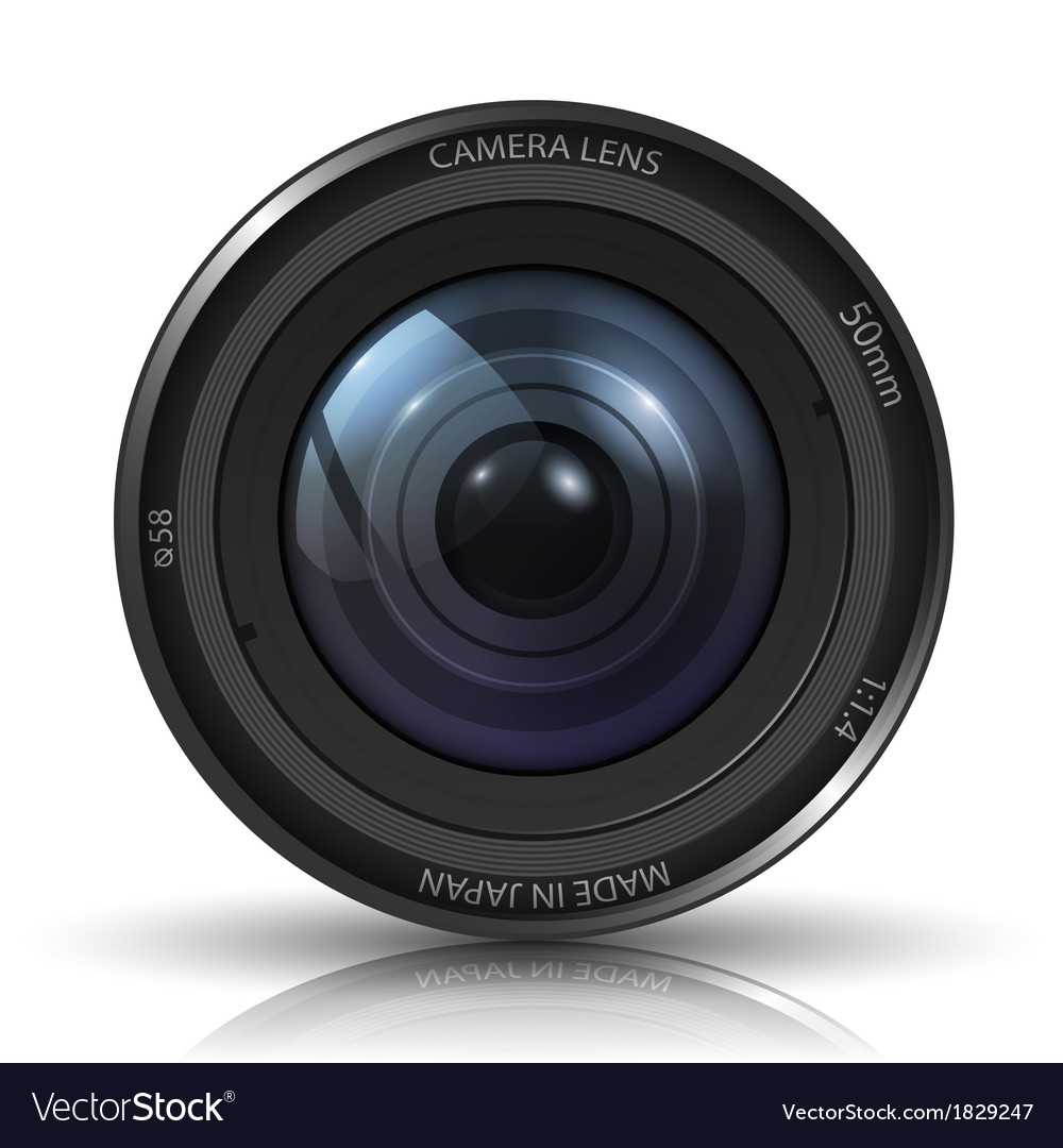 Camera photo lens vector | Price: 1 Credit (USD $1)
