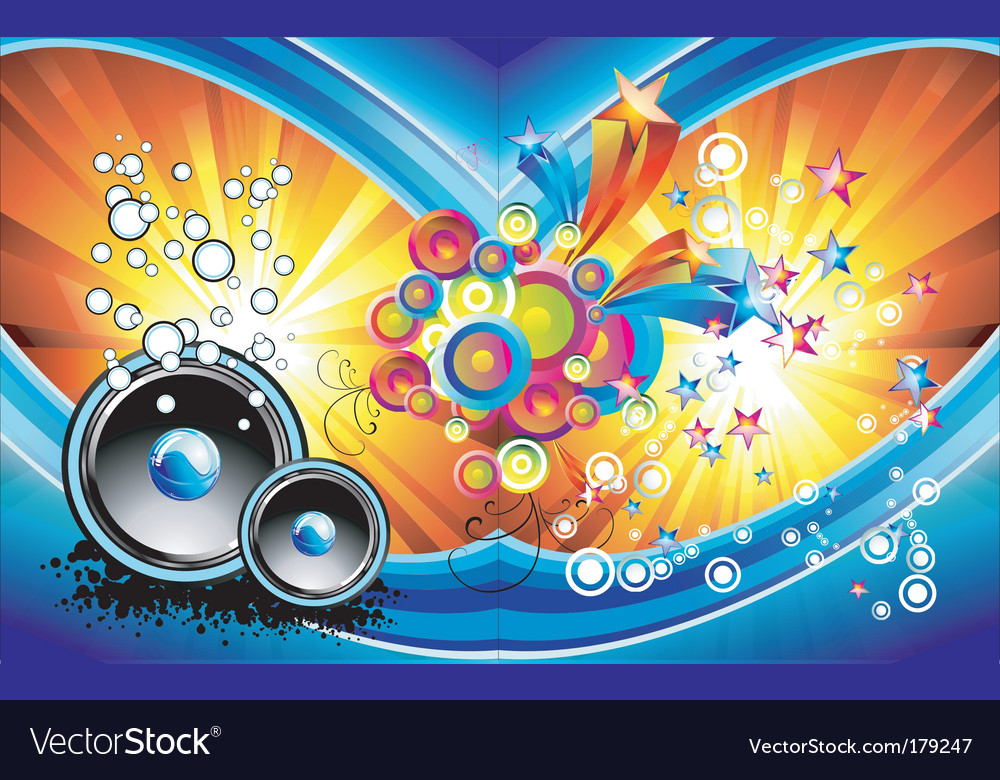 Fantasy music background vector | Price: 3 Credit (USD $3)