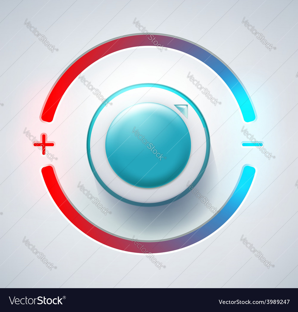Level controller vector | Price: 1 Credit (USD $1)