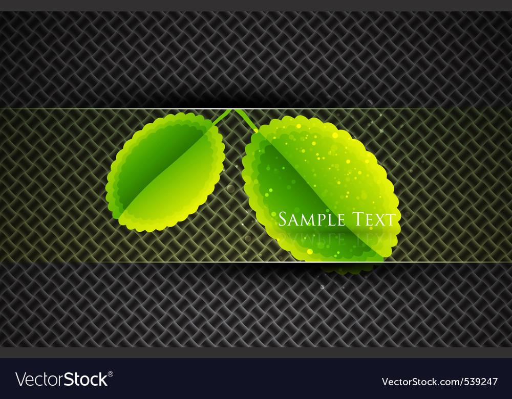 Modern leaves vector | Price: 1 Credit (USD $1)