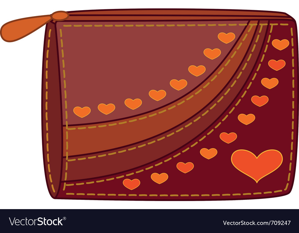 Purse vector | Price: 1 Credit (USD $1)