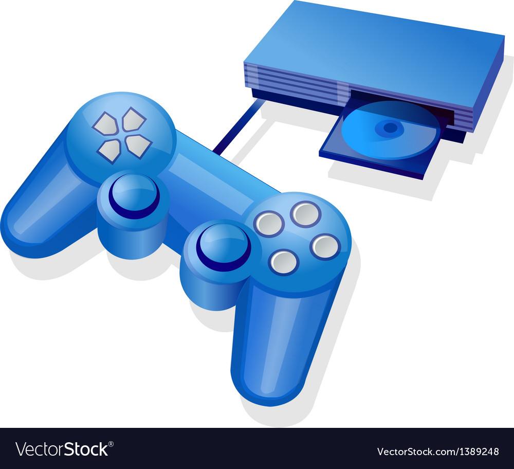 Icon game console vector | Price: 1 Credit (USD $1)