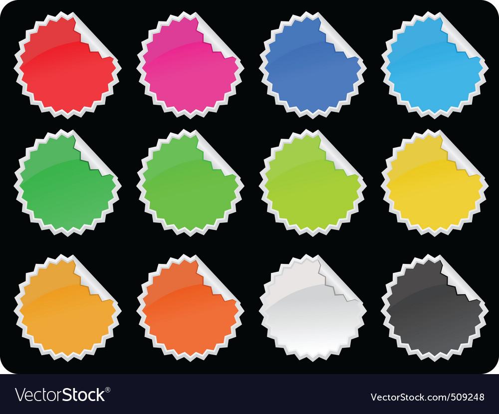 Label sets vector | Price: 1 Credit (USD $1)