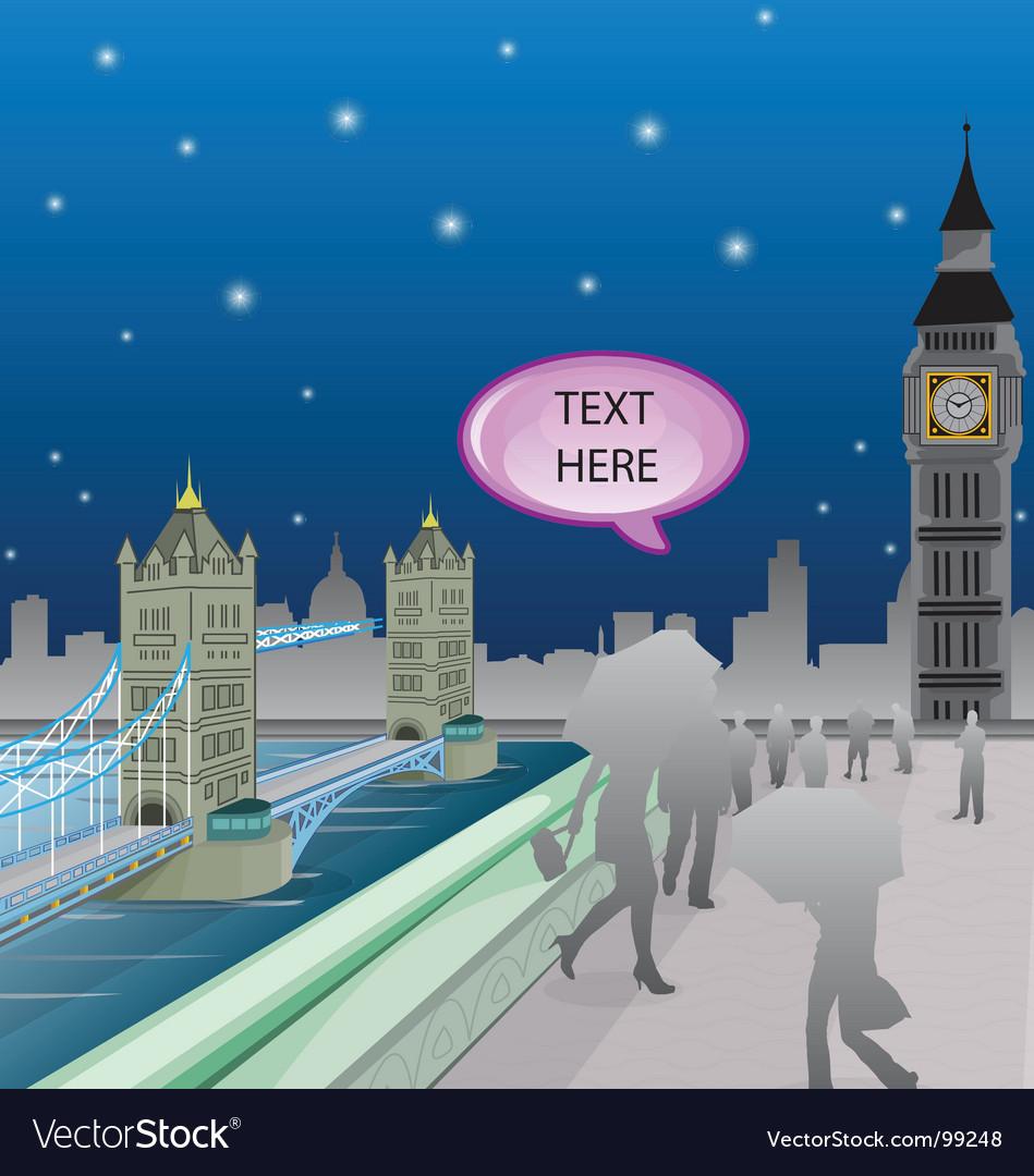 London bridge vector   Price: 1 Credit (USD $1)