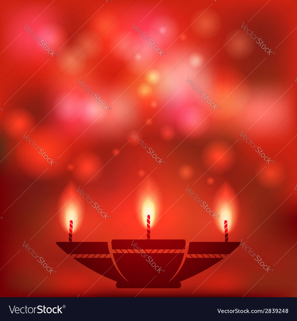 Oil lamp blurred background vector | Price: 1 Credit (USD $1)