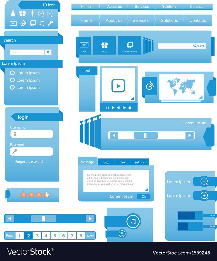 Website design template vector   Price: 1 Credit (USD $1)