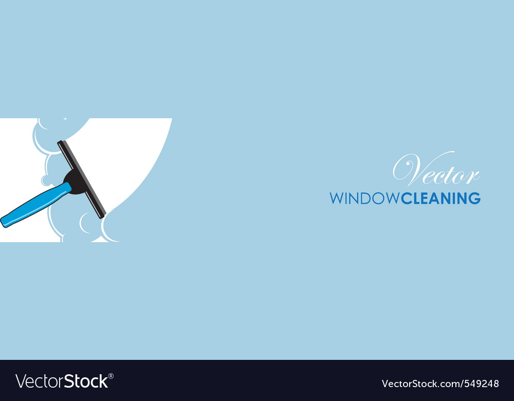 Window cleaning vector | Price: 1 Credit (USD $1)