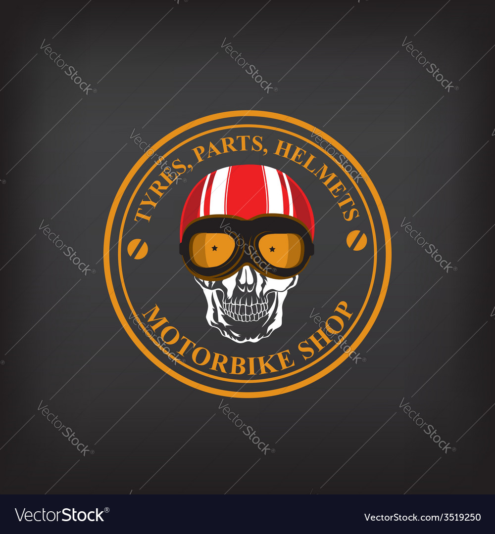 Motorbike shop vector | Price: 1 Credit (USD $1)
