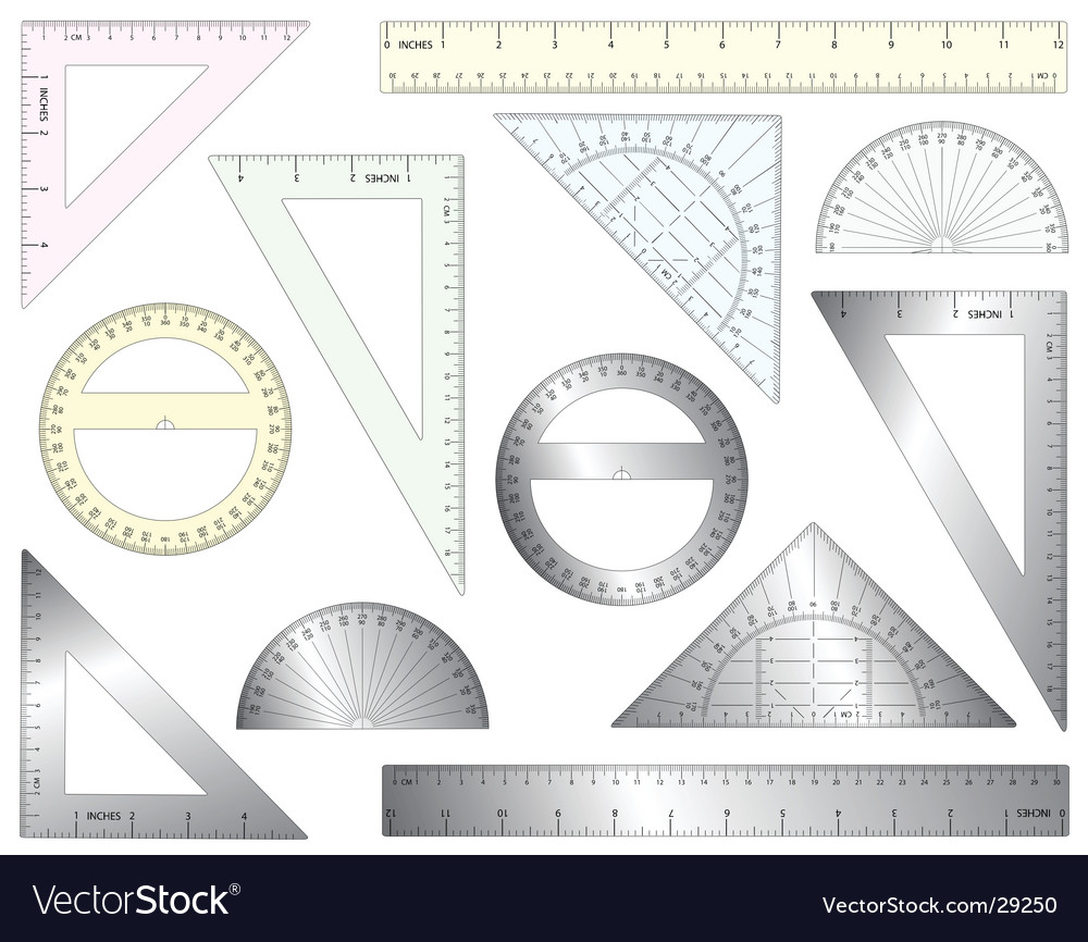 Rulers vector | Price: 1 Credit (USD $1)