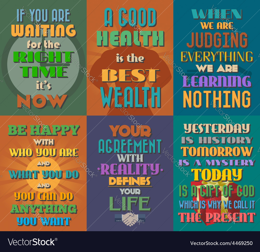 Unusual motivational and inspirational quotes vector | Price: 1 Credit (USD $1)