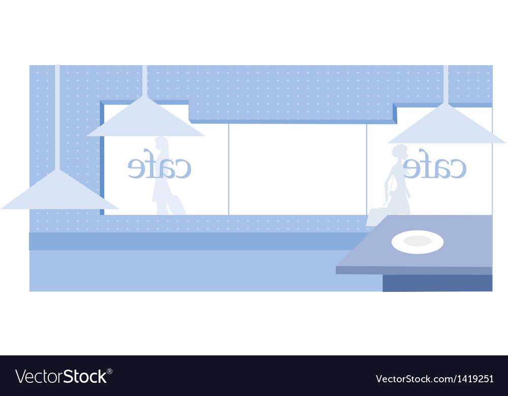 Cafe interior vector   Price: 1 Credit (USD $1)