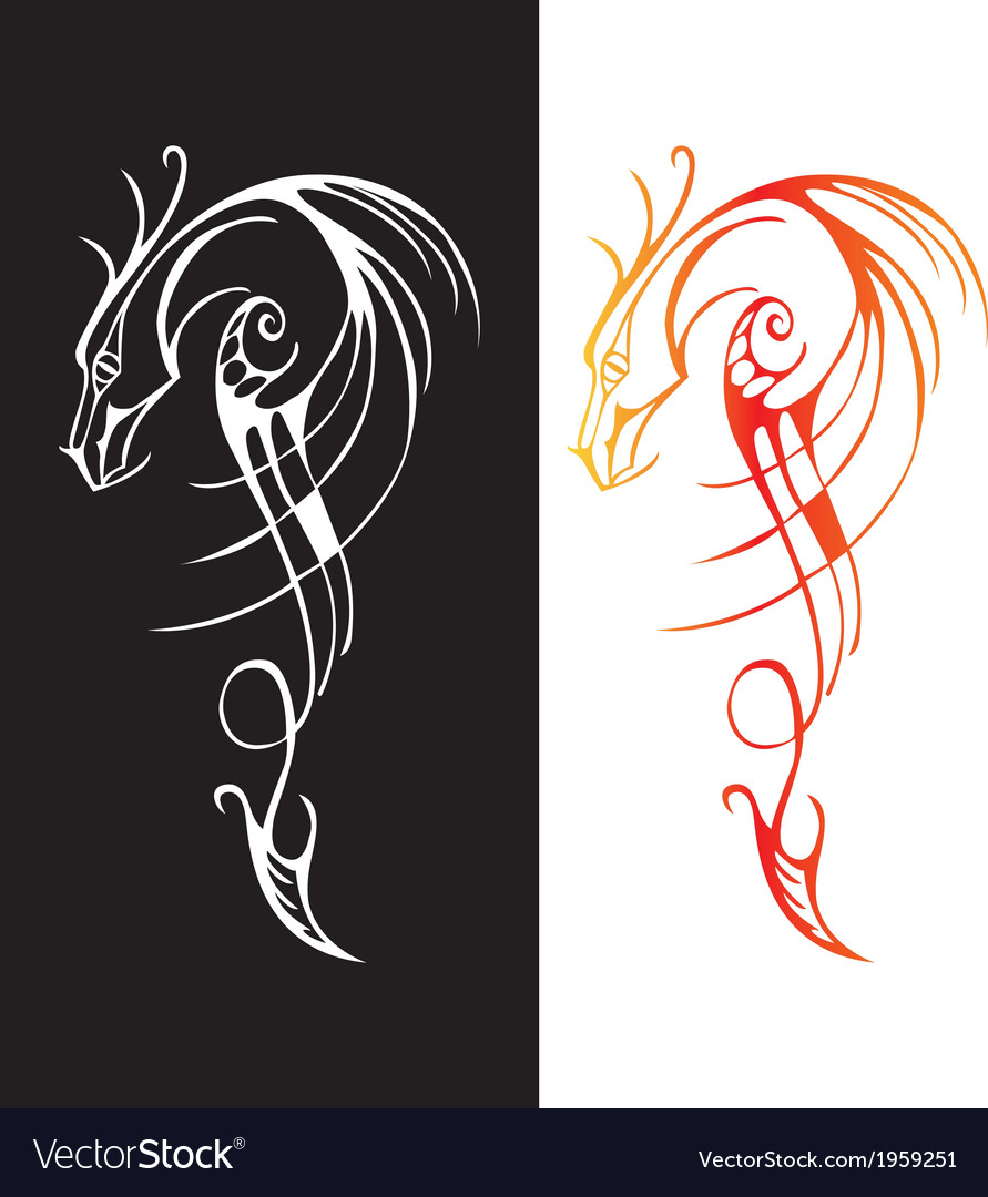 Chinese traditional dragon sword vector | Price: 1 Credit (USD $1)
