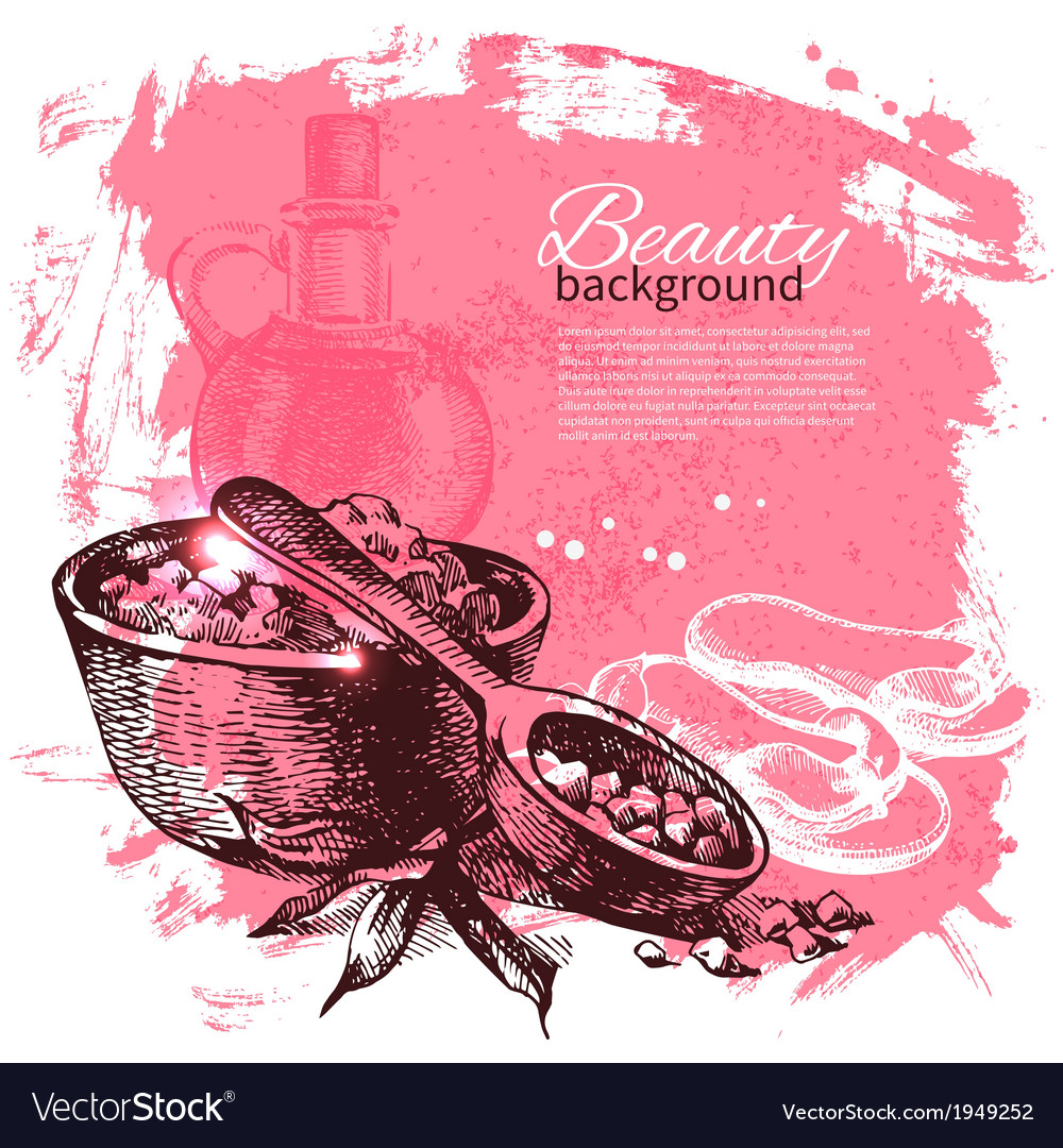 Spa background vector | Price: 1 Credit (USD $1)