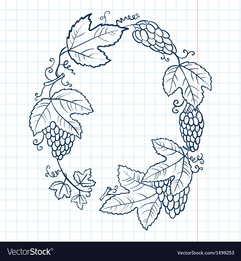 Doodle frame vector | Price: 1 Credit (USD $1)