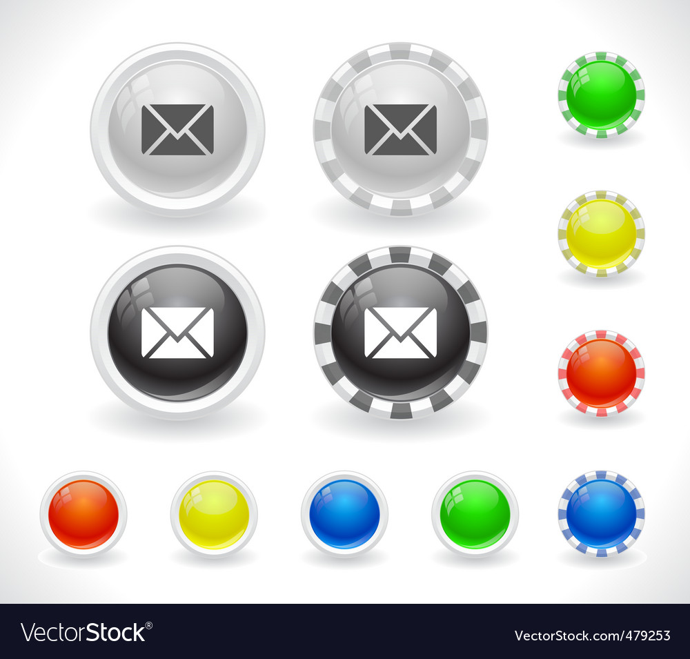 Website gui buttons vector | Price: 1 Credit (USD $1)