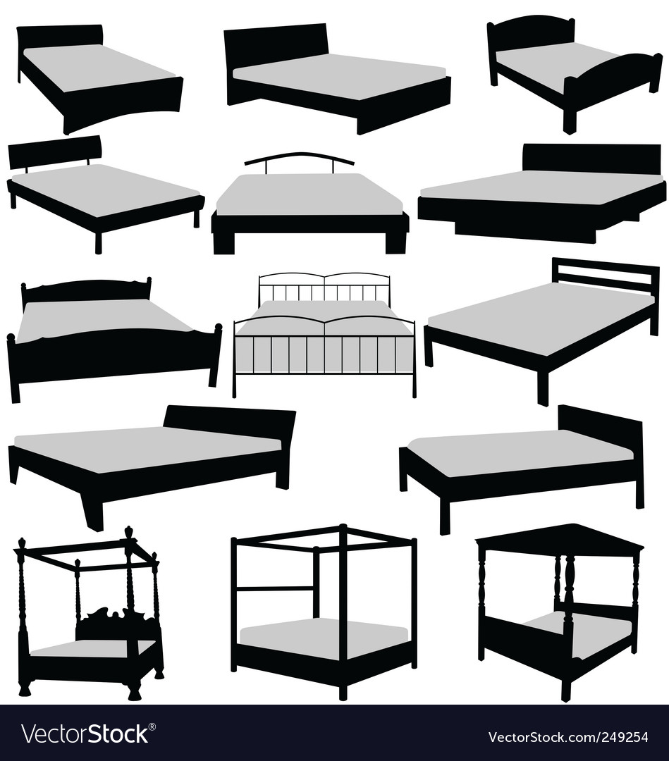 Beds collecttion vector | Price: 1 Credit (USD $1)