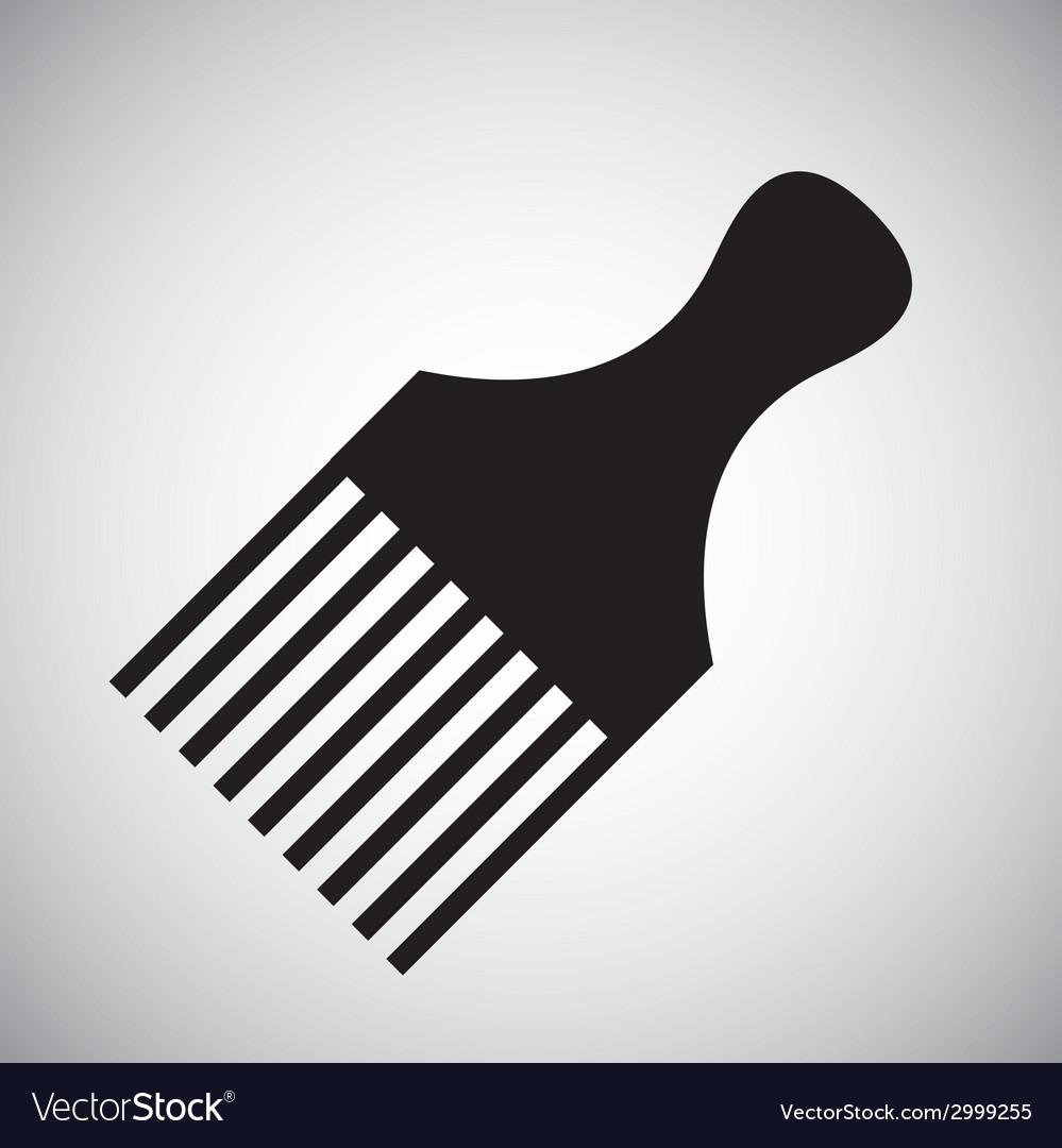 Comb design vector | Price: 1 Credit (USD $1)