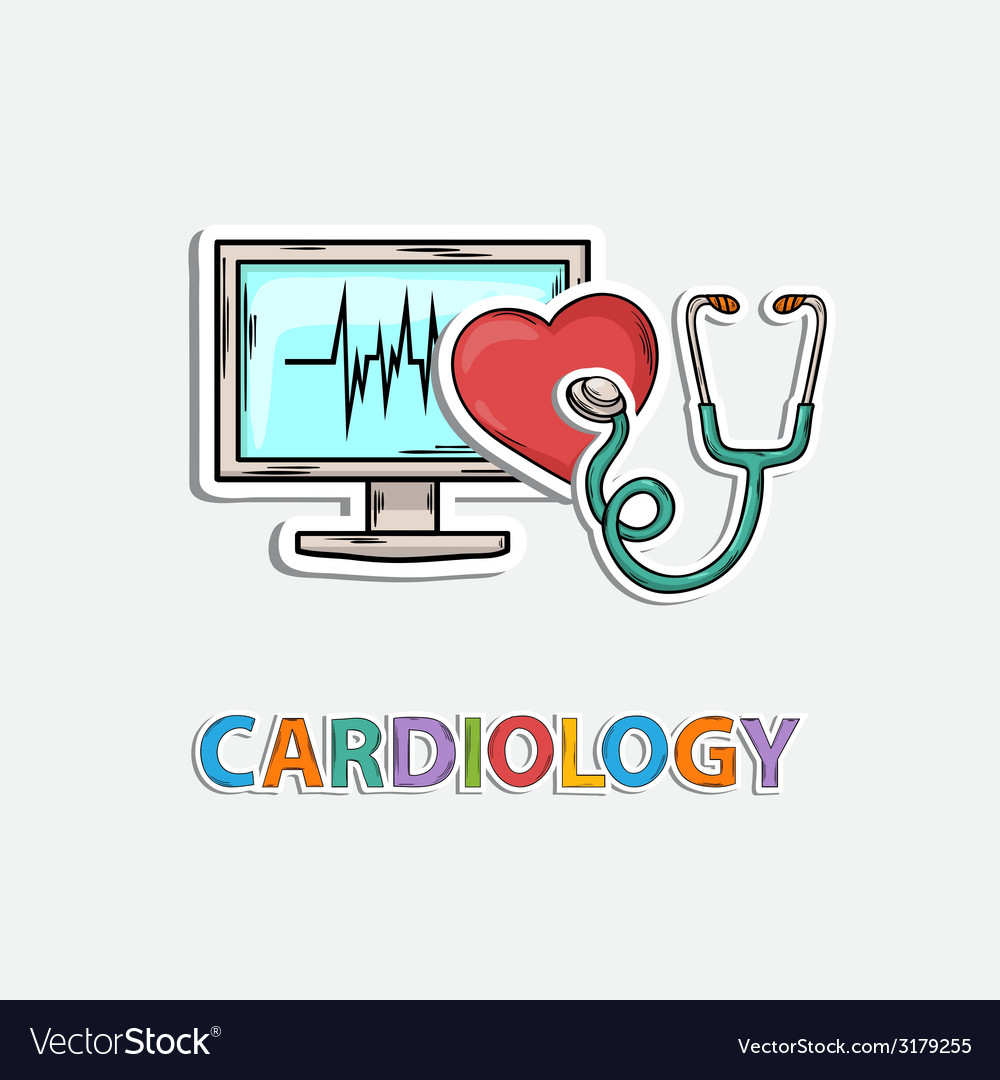 Concept icon for cardiology vector | Price: 1 Credit (USD $1)