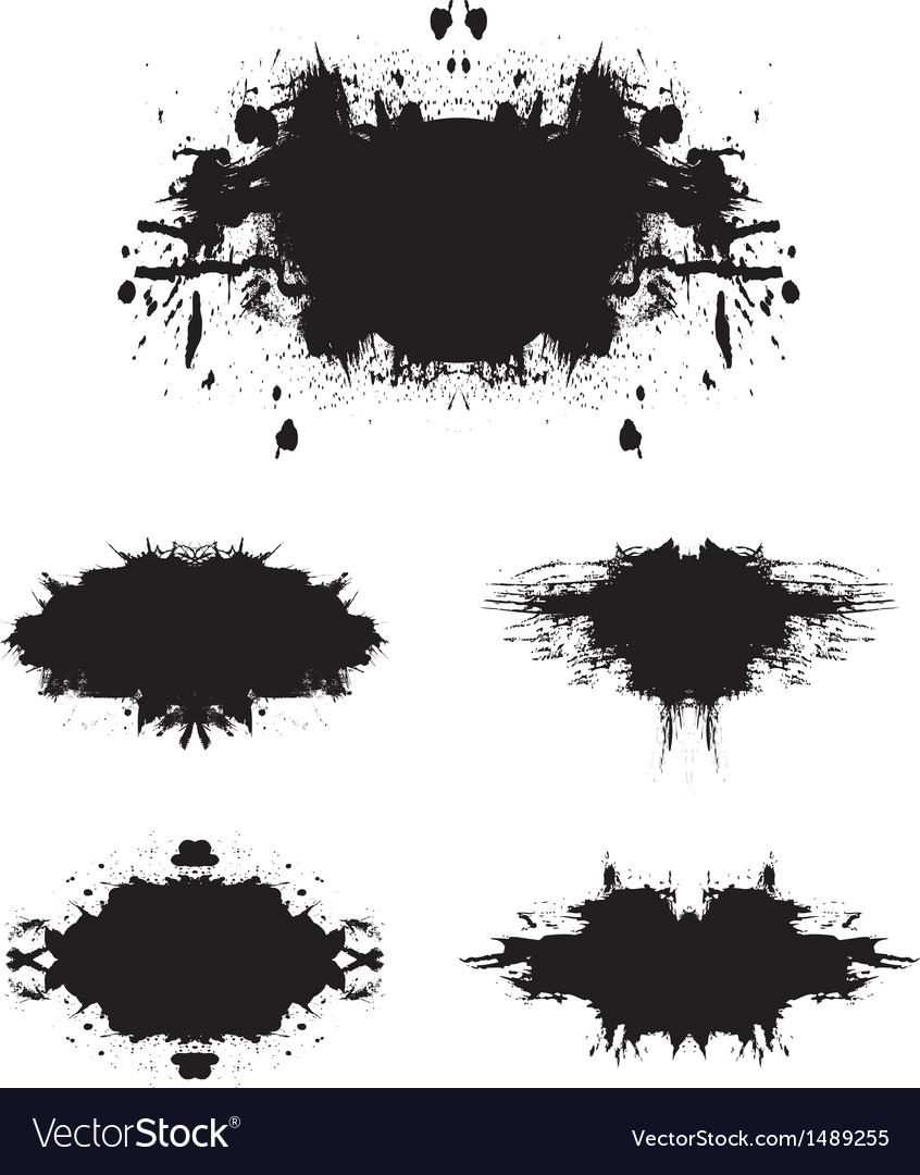 Grunge background set 1 vector | Price: 1 Credit (USD $1)