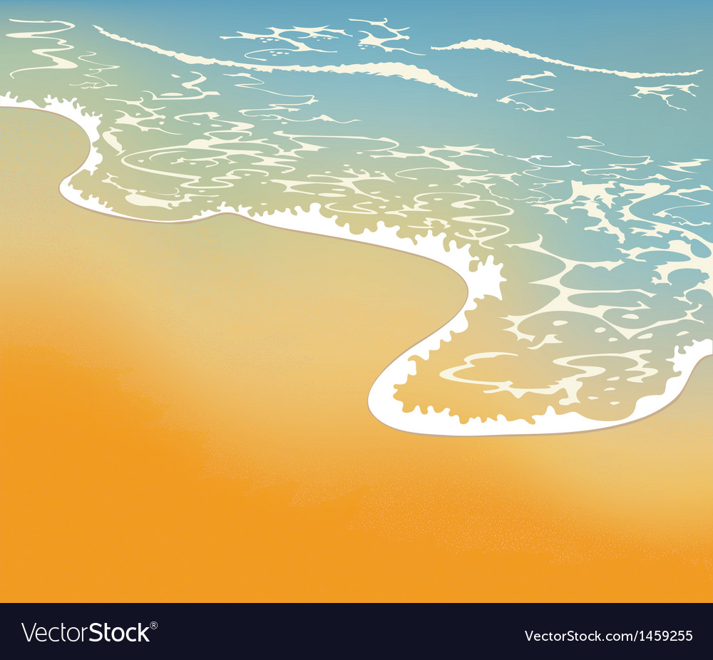 Holiday on the beach vector | Price: 1 Credit (USD $1)