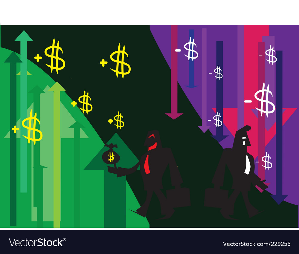Profit loss vector | Price: 1 Credit (USD $1)