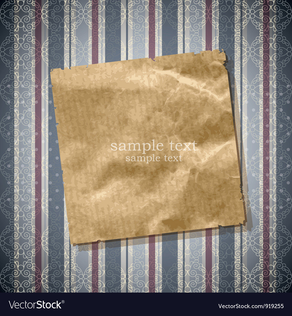 Scrap of old paper vector | Price: 1 Credit (USD $1)
