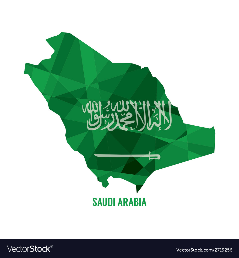 Map of saudi arabia vector | Price: 1 Credit (USD $1)