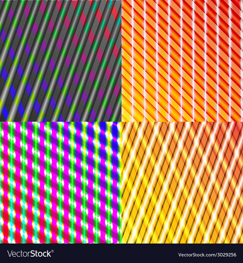 Set of splash color abstract glowing background vector | Price: 1 Credit (USD $1)