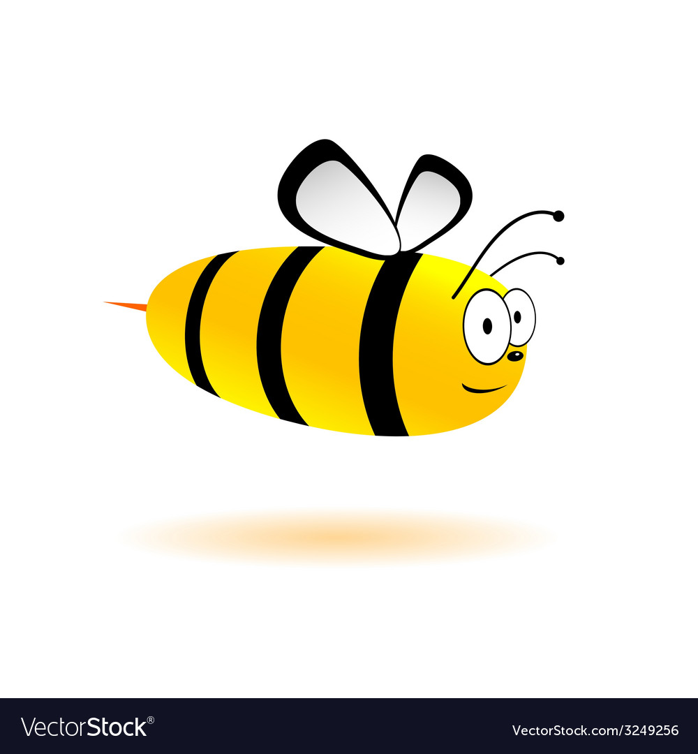 Sweet and cute bee vector   Price: 1 Credit (USD $1)