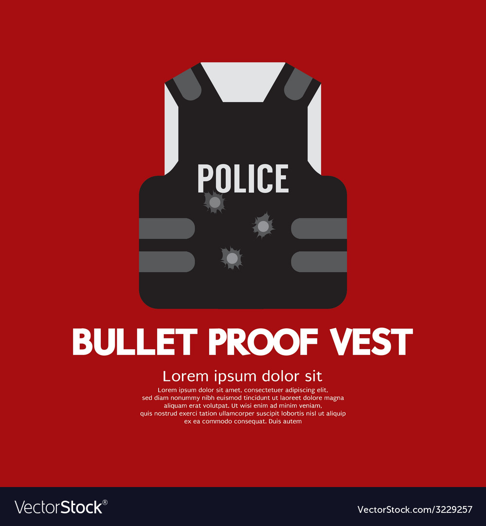 Bullet proof vest vector | Price: 1 Credit (USD $1)