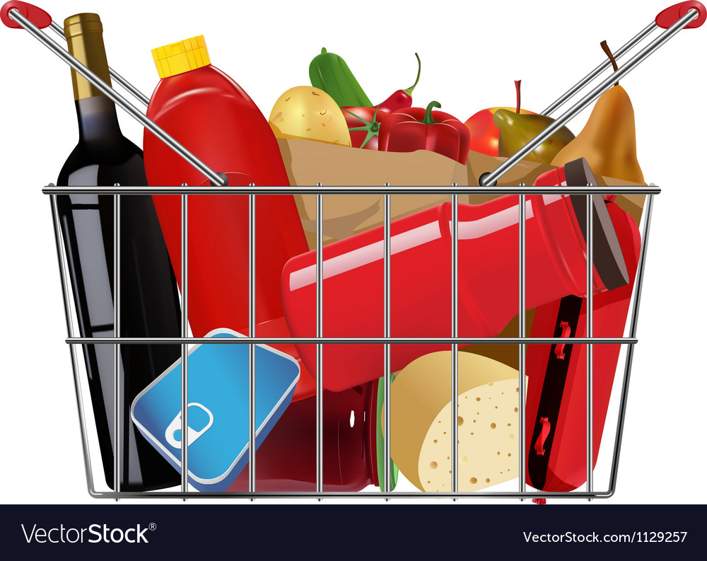 Grocery vector | Price: 3 Credit (USD $3)