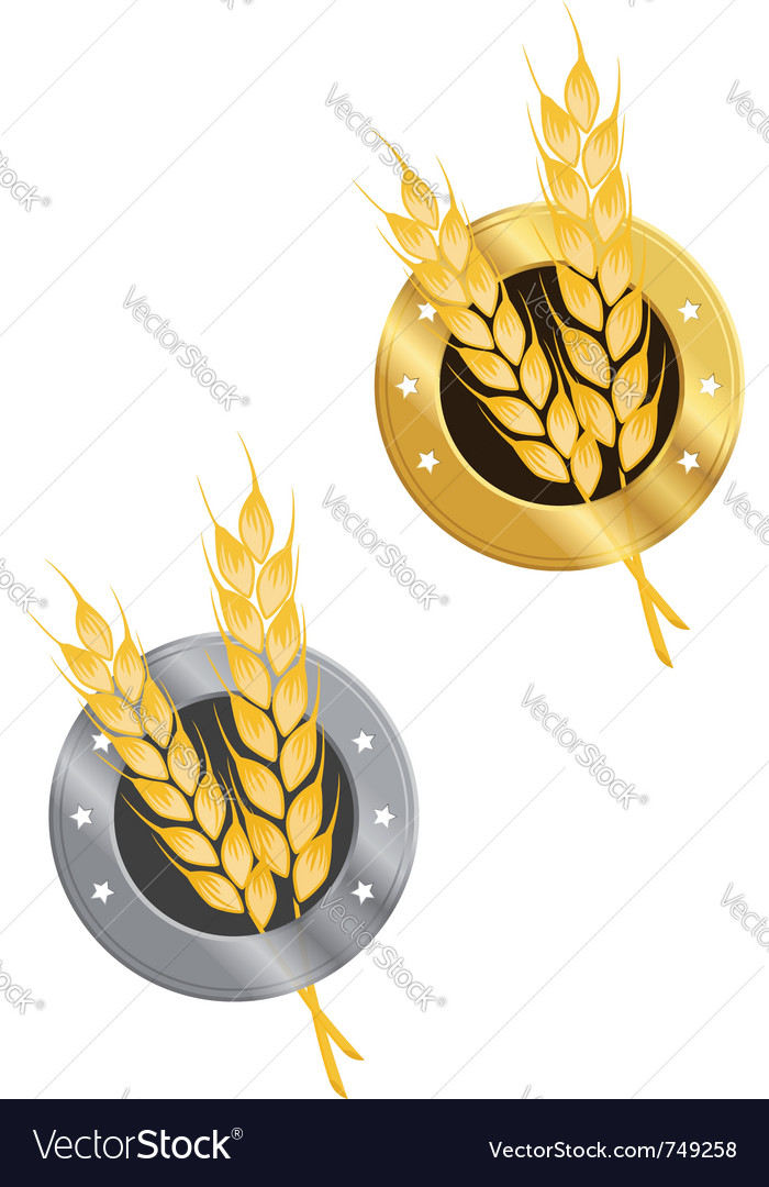 Wheat symbol vector | Price: 1 Credit (USD $1)