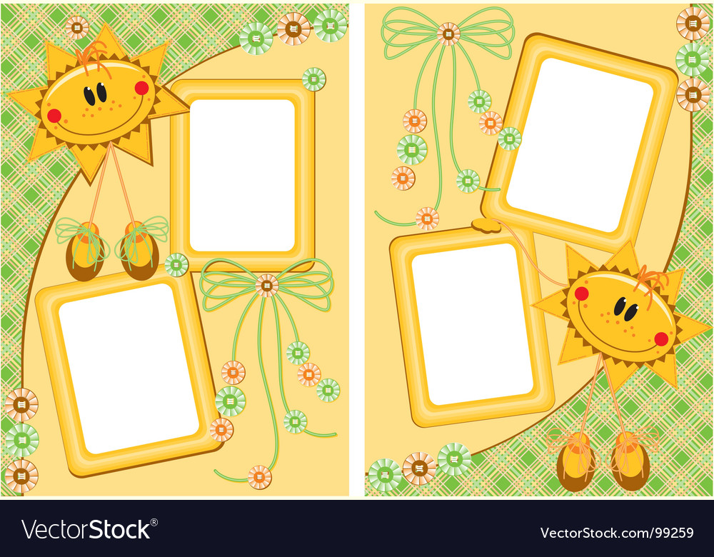 Scrap booking vector | Price: 1 Credit (USD $1)